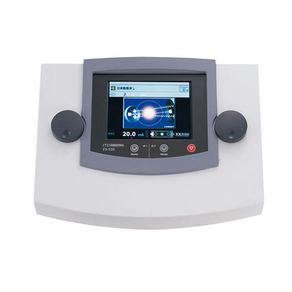 低周波治療器・干渉電流型低周波治療器組合せ理学療法機器(総合刺激装置 ES-530)